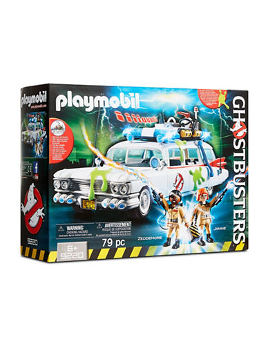 Playmobil Ecto-1 Action Vehicle with Winston Zeddemore and Janine Melnitz-MULTI-One Size