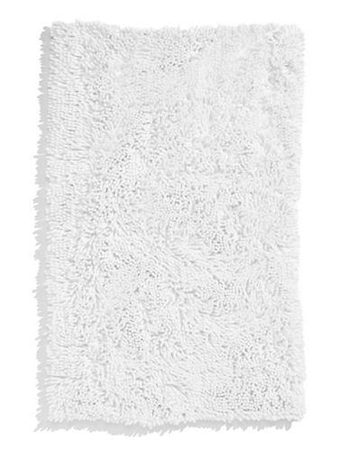 Dh Micro Noodle Bath Rug-WHITE-21x34