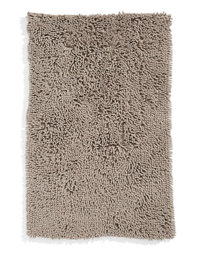 Dh Micro Noodle Bath Rug-TAUPE-21x34