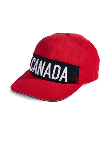Canadian Olympic Team Collection Canada Baseball Cap-RED-One Size