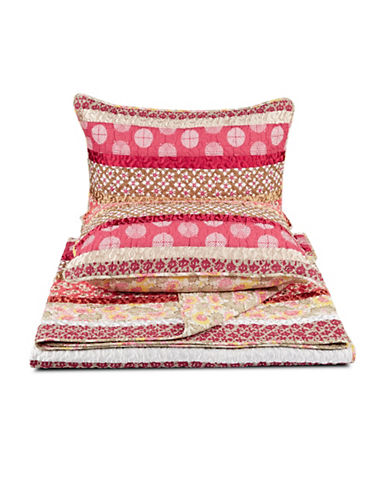 Home Studio Marrakesh Three-Piece Duvet Cover Set-MULTI-COLOURED-King