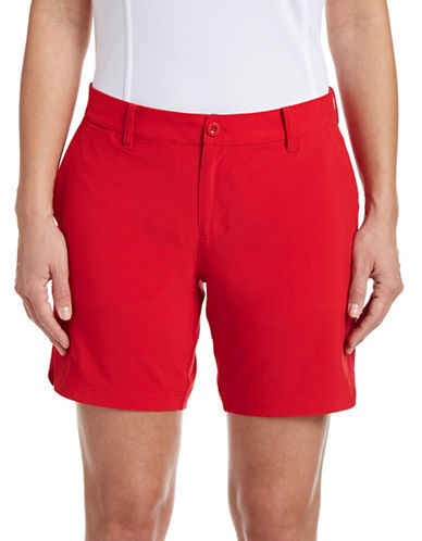 Golf Canada Womens Golf Shorts-RED-6 87913728_RED_6