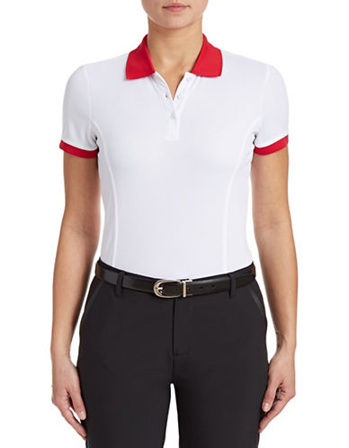 Golf Canada Womens Classic Ringer Polo-WHITE-Medium 87913746_WHITE_Medium