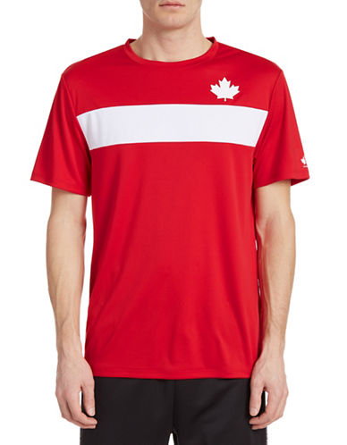 Golf Canada Chest Stripe Training Tee-RED-X-Large 87916517_RED_X-Large