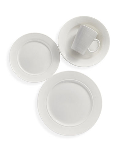 Glucksteinhome Eclipse 16-Piece Dinnerware Set-WHITE-One Size