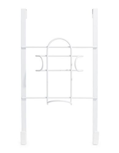 Essential Needs Over-the-Door Jacket and Iron Hanger-WHITE-One Size