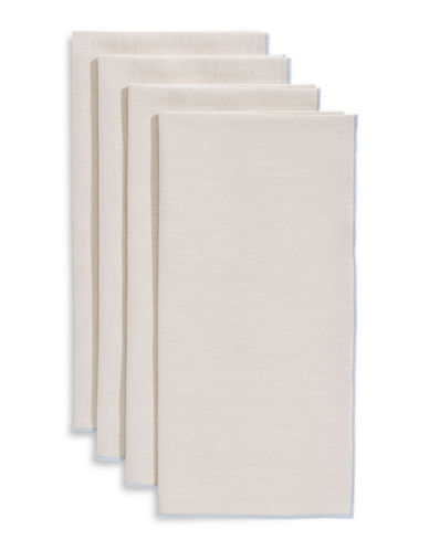 Glucksteinhome Provencal Set of Four Napkins-NATURAL-One Size