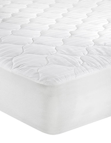 Distinctly Home Moisture Management Mattress Pad-WHITE-King