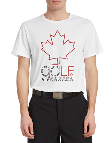 Golf Canada Tour Graphic Golf Tee-WHITE-X-Large 87961567_WHITE_X-Large