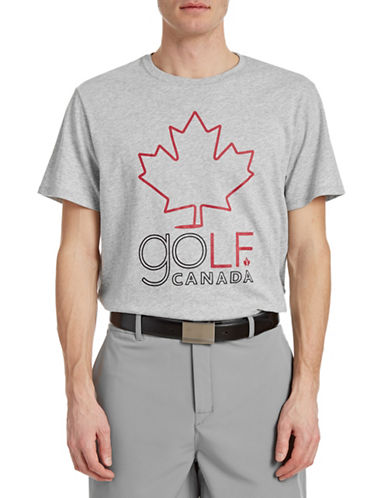 Golf Canada Tour Graphic Golf Tee-GREY-Small