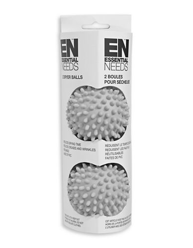 Essential Needs Two-Pack Dryer Balls-GREY-One Size