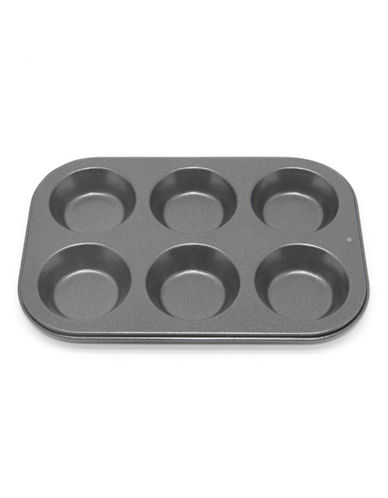 Essential Needs Six-Cup Non-Stick Mini Muffin Pan 87968388