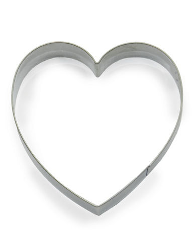 Essential Needs Heart-Shaped Stainless Steel Cookie Cutter-SILVER-One Size