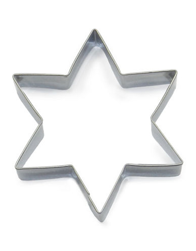 Essential Needs Star-Shaped Stainless Steel Cookie Cutter-SILVER-One Size