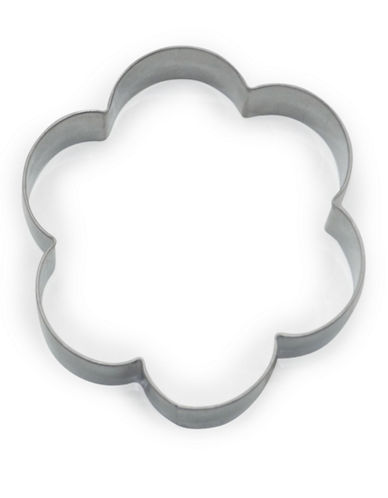 Essential Needs Flower Cookie Cutter-SILVER-One Size