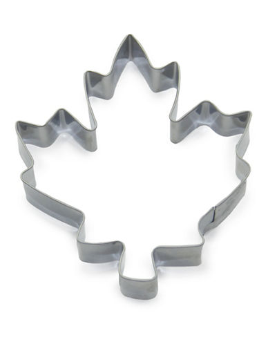 Essential Needs Maple Leaf Stainless Steel Cookie Cutter-SILVER-One Size