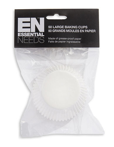 Essential Needs Pack of 50 Large Baking Cups-50PK-One Size 87969041_50PK_One Size