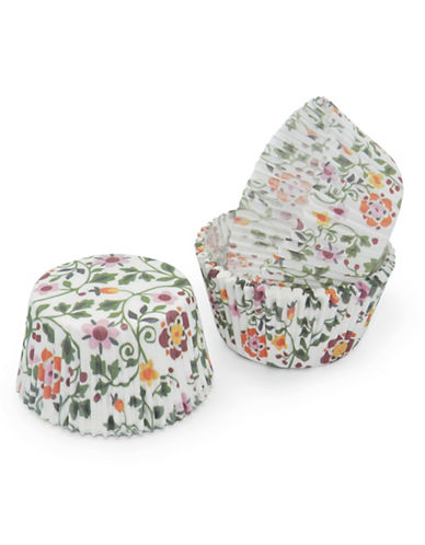 Essential Needs Pack of 50 Floral-Printed Large Baking Cups 87969074