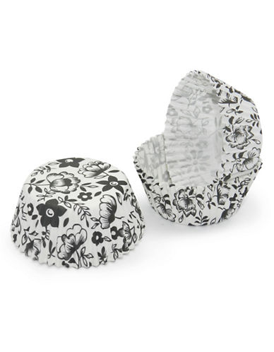 Essential Needs Pack of 50 Floral-Printed Large Baking Cups 87969081