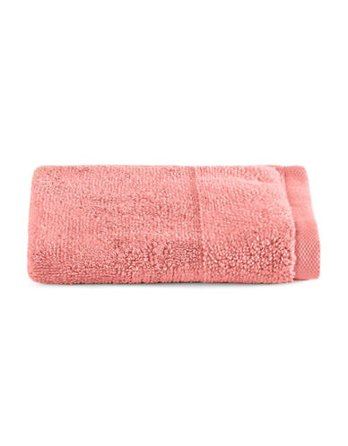 Distinctly Home Egyptian Cotton-Blend Wash Cloth-CORAL-Washcloth