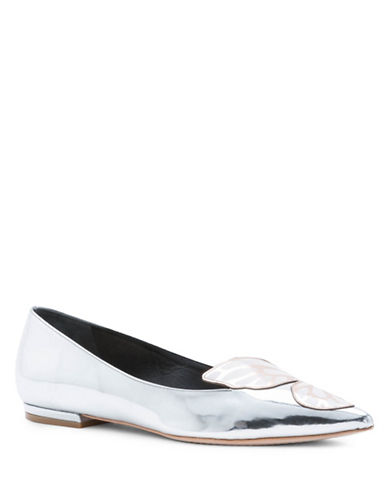 Sophia Webster Bibi Butterfly Silver Flats-SILVER-EUR 36/US 6