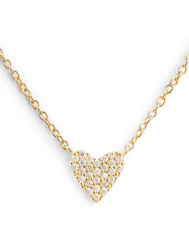 Mejuri Dainty Heart Necklace-GOLD-One Size