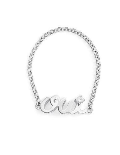 Mejuri Oui Chain Ring-SILVER-7