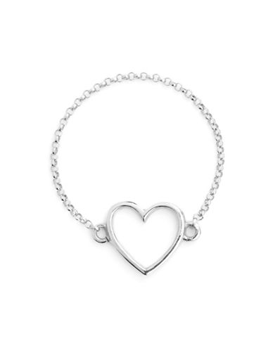 Mejuri Heartbreaker Ring-SILVER-7
