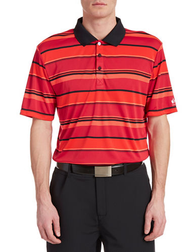 Golf Canada Rio Striped Yarn-Dyed Polo-RED-Medium 88073429_RED_Medium