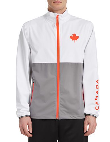 Golf Canada Tour Contrast Warm-Up Jacket-GREY-Medium 88089533_GREY_Medium