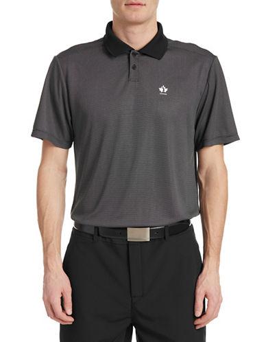 Golf Canada Core Dot Stripe Polo-BLACK-Small 88089546_BLACK_Small