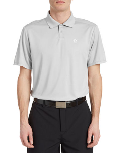 Golf Canada Core Dot Stripe Polo-GREY-Large 88089553_GREY_Large