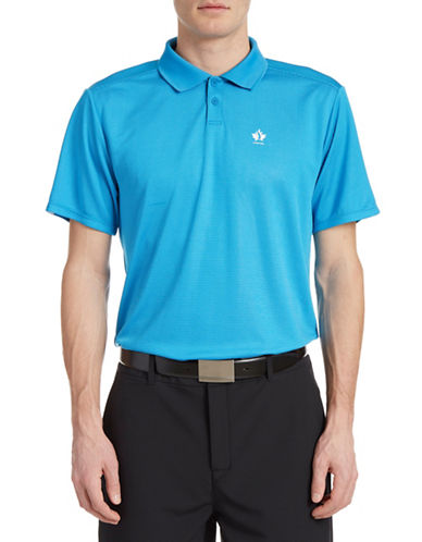 Golf Canada Core Dot Stripe Polo-BLUE-Small 88089556_BLUE_Small