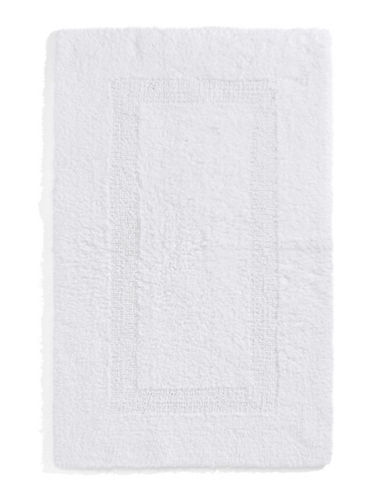 Glucksteinhome Reversible Rectangular Bath Mat-WHITE-One Size
