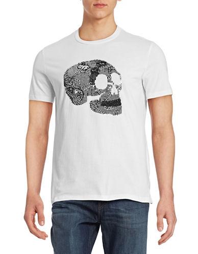 Markus Lupfer Sequin Skull Graphic T-Shirt-WHITE-Small 88134342_WHITE_Small