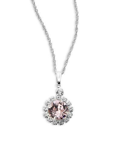 Ti Adoro Gina Button Pendant Necklace-VINTAGE ROSE-One Size