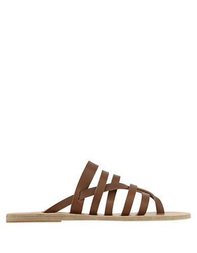 Ancient Greek Sandals Gaia Leather Sandals-BROWN-EUR 36/US 6