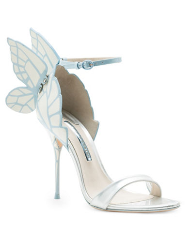 Sophia Webster Chiara Ice Bridal Leather Sandals-ICE-EUR 35/US 5