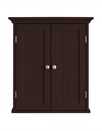 Home Studio Two-Door Wall Cabinet-ESPRESSO-One Size