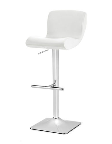 Distinctly Home Lesley Gas Lift Bar Stool-WHITE-One Size