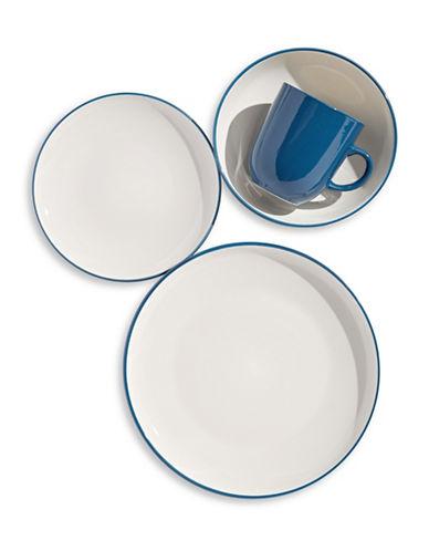 Distinctly Home Orla 16-Piece Stoneware Dinnerware Set-DARK BLUE-One Size