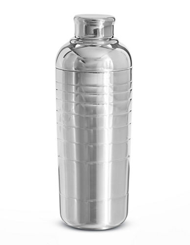 Glucksteinhome Oliver Cocktail Shaker-SILVER-One Size