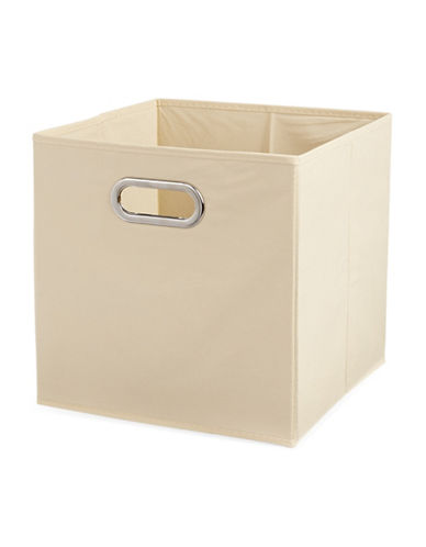 Distinctly Home Four-Cube Shelving-BEIGE-One Size