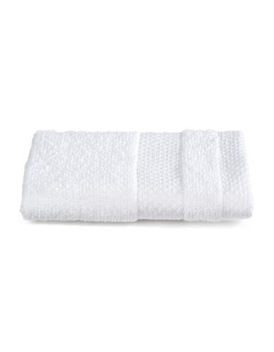 Dh Plush Textured Washcloth-BRIGHT WHITE-Washcloth