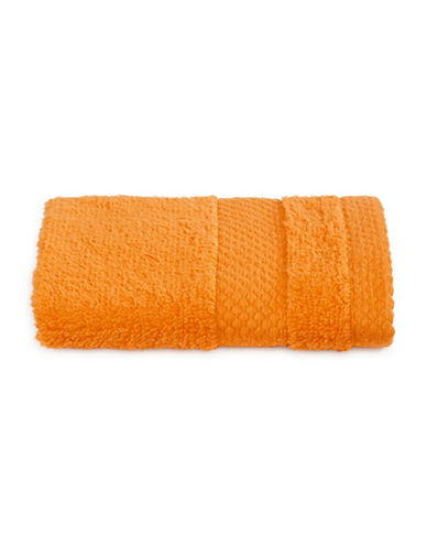 Dh Plush Textured Washcloth-APRICOT-Washcloth