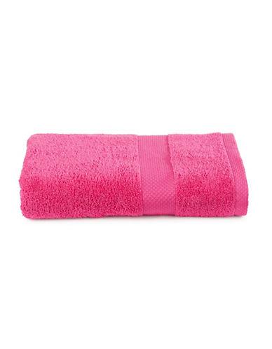 Dh Textured Bath Towel-MAGENTA-Bath Towel
