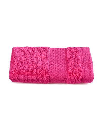 Dh Plush Textured Washcloth-MAGENTA-Washcloth