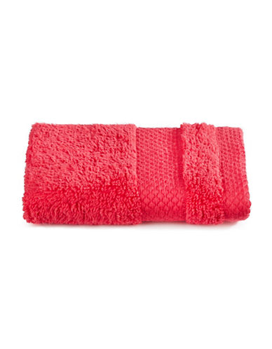 Dh Plush Textured Washcloth-TRUE RED-Washcloth