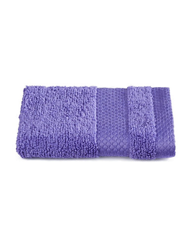 Dh Plush Textured Washcloth-BLUE IRIS-Washcloth