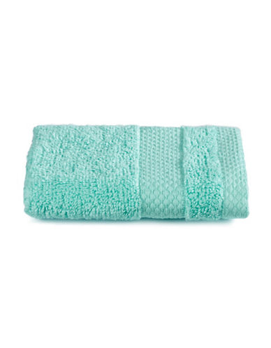Dh Plush Textured Washcloth-ARUBA BLUE-Washcloth